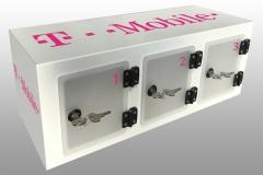 3 Locker Wall T-mobile