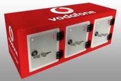 3 Locker Wall Vodafone